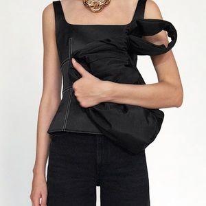 Zara nylon handbag